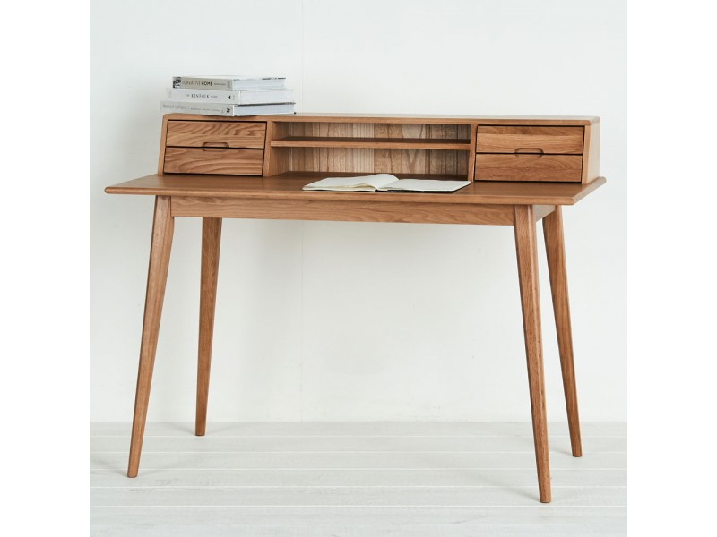 Mẫu bàn học, bàn làm việc gỗ tự nhiên đẹp